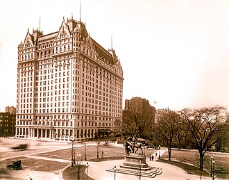The Great Gatsby - The Plaza Hotel in the early-1920s