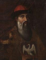 Portret alchemika Michała Sędziwoja (Michael Sendivogius)