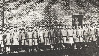 Lebensborn - Polish children in Nazi-German labour camp in Dzierżązna near Zgierz