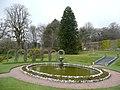 Pond in the walled garden, Arlington - geograph.org.uk - 1825181.jpg