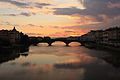Ponte alla Carraia at dusk.JPG