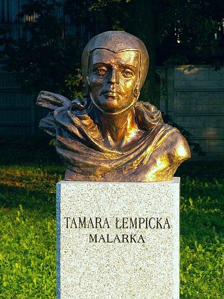File:Popiersie Tamara Łempicka ssj 20060914.jpg
