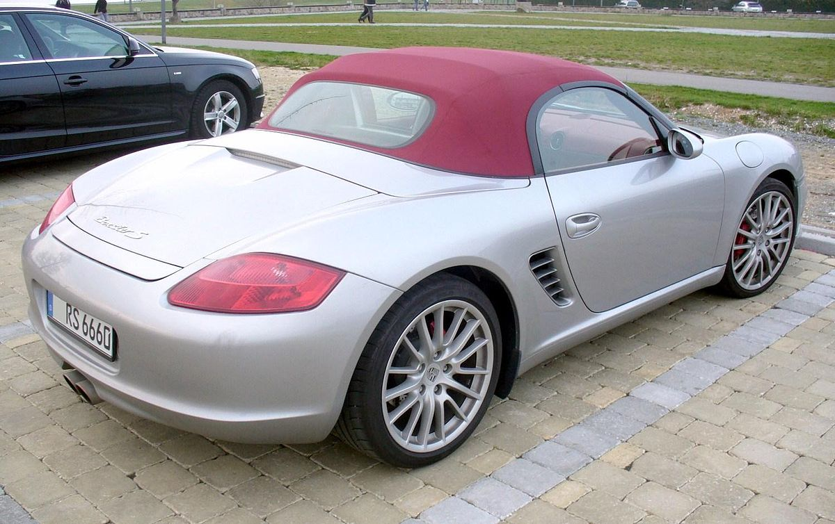 File Porsche Boxster 987 Rs 60 Spyder Heck Jpg Wikimedia Commons
