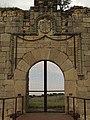 Portada del castillo de San Silvestre.jpg