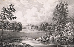 Wentworth Club - Image: Portnall Park. The seat of Colonel Bisse Challoner (1828) by George Frederick Prosser