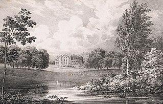 Wentworth Estate village in United Kingdom