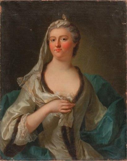 Portrait de Marie Isabelle de Rohan, duchesse de Tallard (1699-1754) Gouvernante des Enfants de France