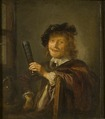Portrait of a Man, possibly a Self-portrait (Gerrit Dou) - Nationalmuseum - 17397.tif