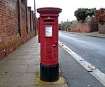Post box on Monks Way, West Kirby.jpg