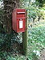 Postbox, Langton by Spilsby - geograph.org.uk - 554794.jpg