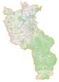 Powiat cieszyński location map.png