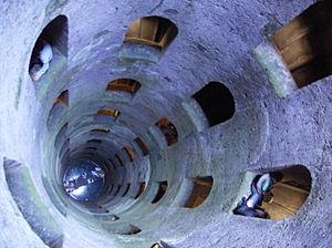 Pozzo di S. Patrizio - The Pozzo di San Patrizio, a well built for Rome commissioned by Pope Clement VII.