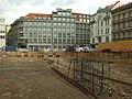 Praha, Nové Město, Národní třída, staveniště Copa center Národní II.JPG
