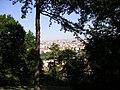 Praha - Kinského zahrada - View ESE towards Náměstí Míru.jpg