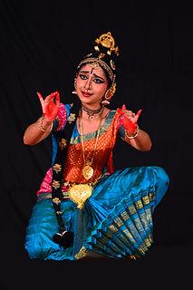 Prateeksha Kashi Indian Kuchipudi dancer