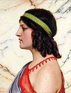 Praxilla. John William Godward.jpg