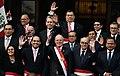 Presidente de la República Pedro Pablo Kuczynski tomó juramento al nuevo Canciller (28002076763).jpg