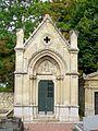 Presles (95), cimetière, chapelle funéraire famille Bouton, rue Adalbert-Baut.jpg