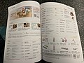Price list and menu on TLife magazine on a high speed train in Taiwan 20210410.jpg