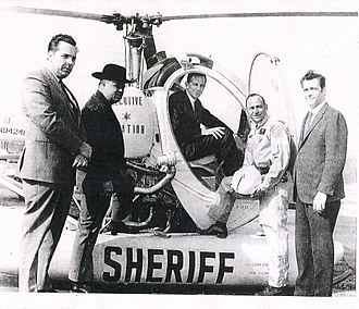 Prince George's County Sheriff's Office - Vintage PGSO helicopter