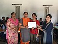 Prize and Certificate distribution ceremony at Wiki Awareness Campaign Karnal 13.jpg