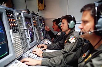 Boeing E-3 Sentry - Air Battle Managers aboard an E-3 Sentry during Operation Provide Comfort