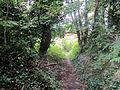 Public footpath on Grange Hill, West Kirby.JPG