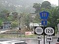 Puerto Rico Highways 1111, 128, 111 Intersection, Lares.jpg