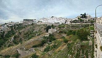Gargano - Monte Sant'Angelo on the slopes of Monte Gargano