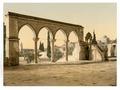 Pulpit of the Cadi Borhan-ed-din, Jerusalem, Holy Land-LCCN2002725009.tif