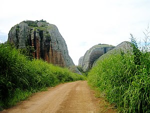 "Black Rocks at Pungo Andongo - The ""Black Stones"" of Pungo Adongo"