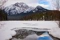 Pyramid Mountain from Pyramid Lake.jpg