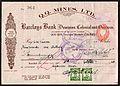 Q.Q. Mines cheque Southern Rhodesia 1940.jpg