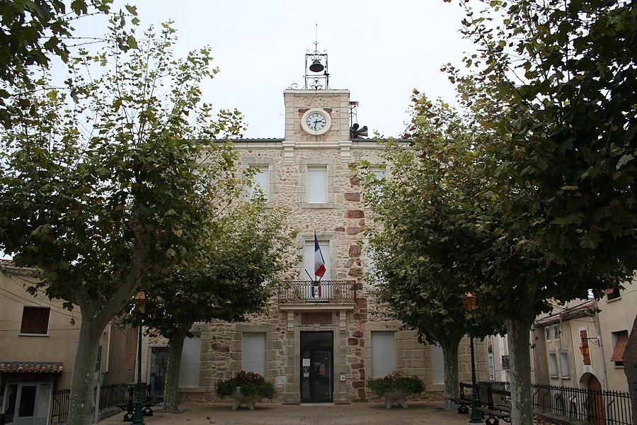 Quarante (Hérault) - mairie.
