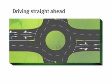 Fichier:Queensland Road Rules – signalling at roundabouts.webm