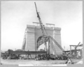 Queensland State Archives 3621 South anchor pier completed Brisbane 11 February 1938.png