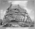 Queensland State Archives 3992 View along deck of north anchor and cantilever arms Brisbane 2 May 1939.png