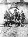 Quichua-hövdingar i Santa Rosa. Sydamerika, Santa Rosa, S-ta Rosa. Peru - SMVK - 002381.tif