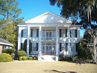 Quincy, Florida - Judge Pleasants Woodson (P. W.) White House