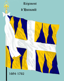 Image illustrative de l'article Régiment de Hainault (1684)