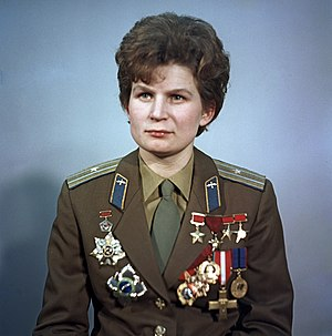 Astronaut - Valentina Tereshkova, first woman in space (1963)