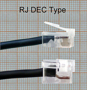 Modified Modular Jack - Image: RJ DEC Type