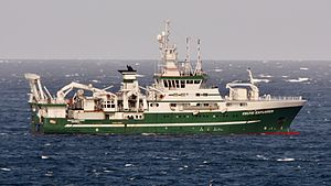 RV Celtic Explorer - Image: RV Celtic Explorer (cropped)