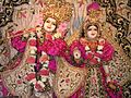 Radha Londonishvara Deities at Hare Krishna temple in London.jpg