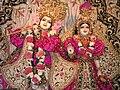 Radha Londonishvara Deities at Hare Krishna temple in London.jpg