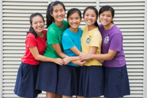 Raffles Girls' School (Secondary) - House clothing with culottes