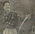 Raghuvir with his Signature trick Dhanurvidya.jpg