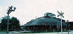 Youngwood, Pennsylvania - Former railroad station (1902), now a museum