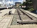 Railroad switch in Kyushu Railway History Museum.jpg