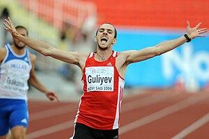 Sport in Turkey - Ramil Guliyev switched allegiance to Turkey.